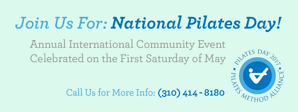 Join Us for National Pilates Day
